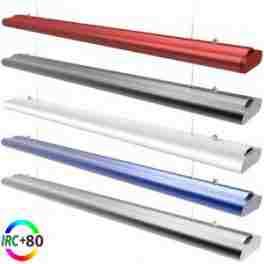 Luminaire suspendu ITOMÉ LED longueur 90 cm 30 watts